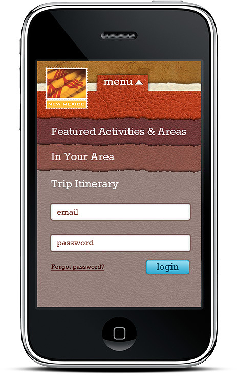 Write Your Story Mobile Homepage