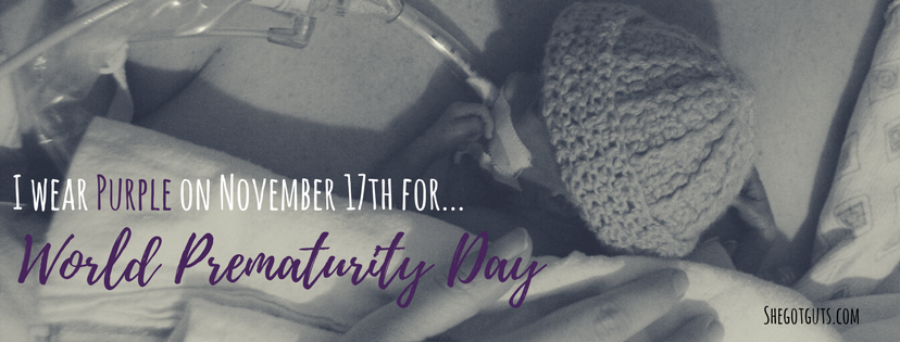 world prematurity day - facebook cover page - shegotguts.com