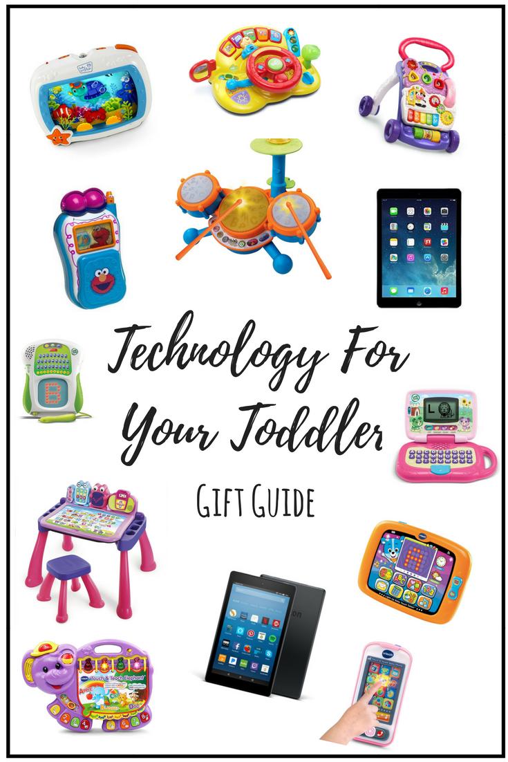 Technology For Your Toddler - shegotguts.com