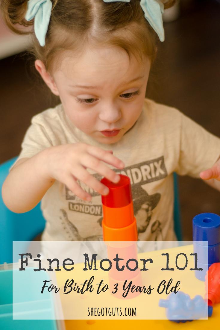 Fine Motor 101 - shegotguts.com