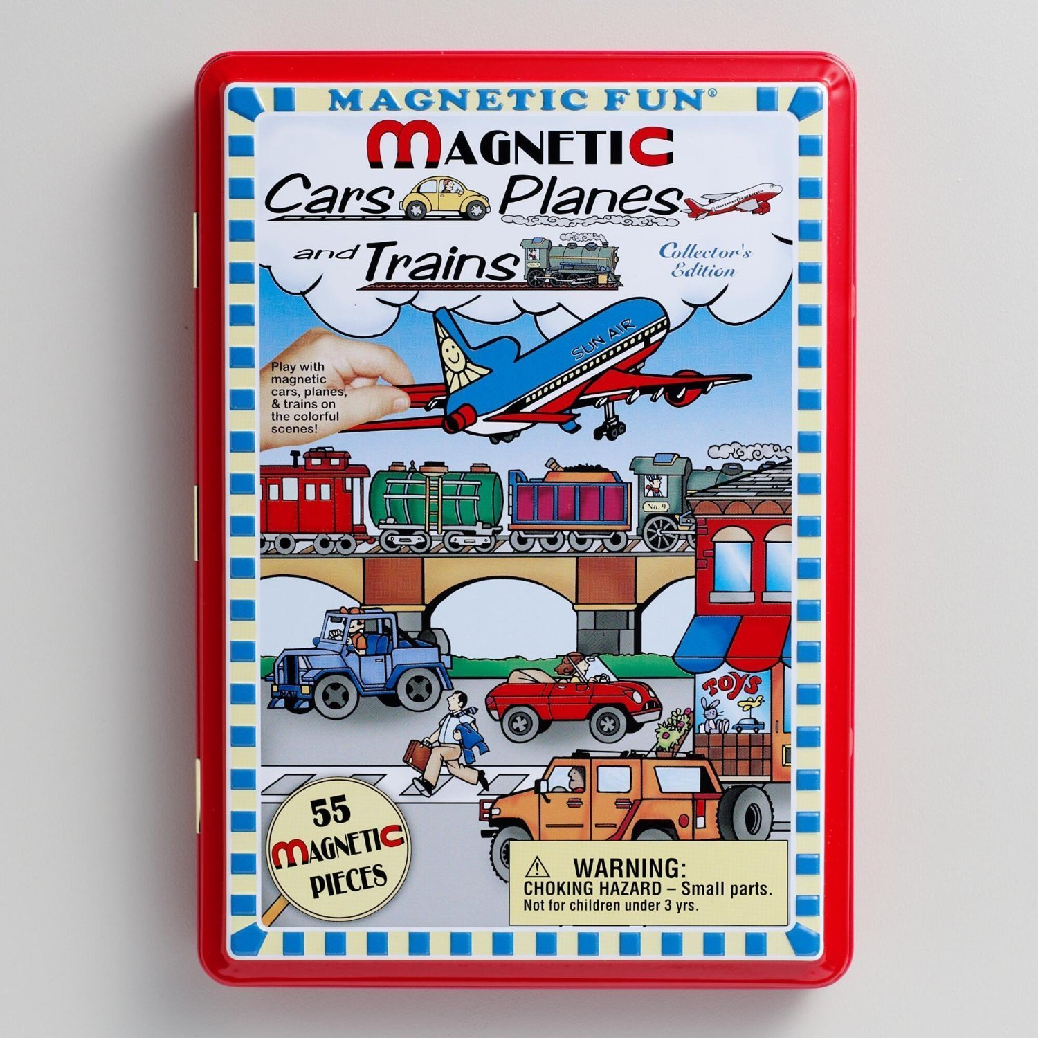 Magnetic Cars, Planes & Trains