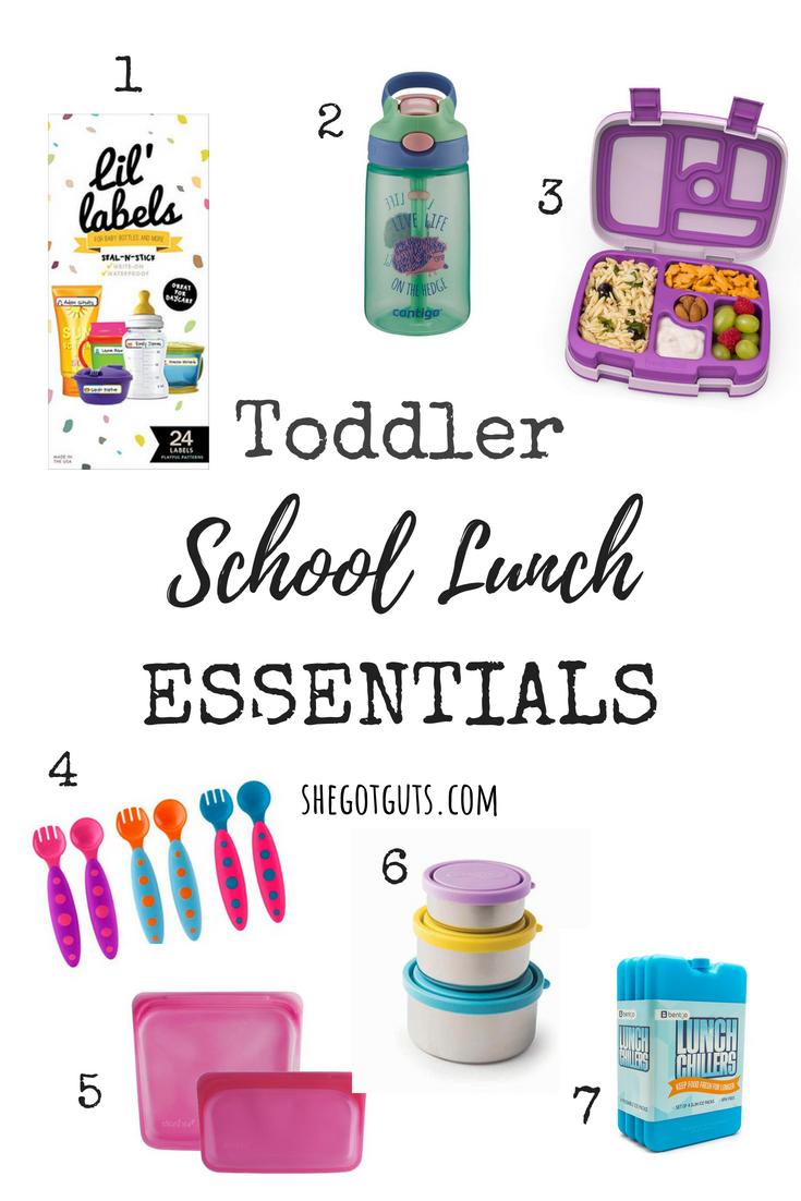 Toddler Back to School Essentials - She Got Guts
