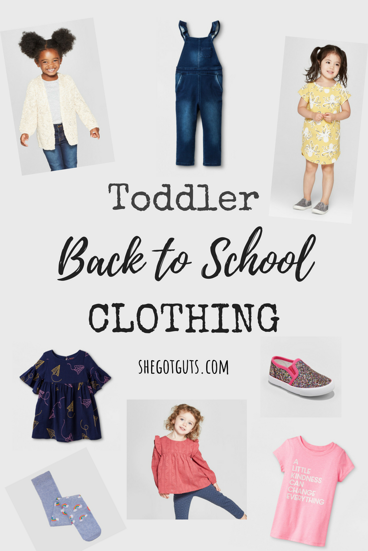 Toddler Back to School Essentials - She Got Guts