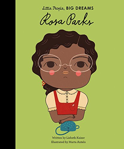 15. Little People, Big Dreams : Rosa Parks - few lines of text on each page, bright, engaging illustrations and inspiring stories of people from humble beginnings who did something great with their lives . I especially love the illustrations. Little people, big dreams series includes Marie Curie, Emmeline Pankhurst, Rosa Parks, Audrey Hepburn , & Ella Fitzgerald.