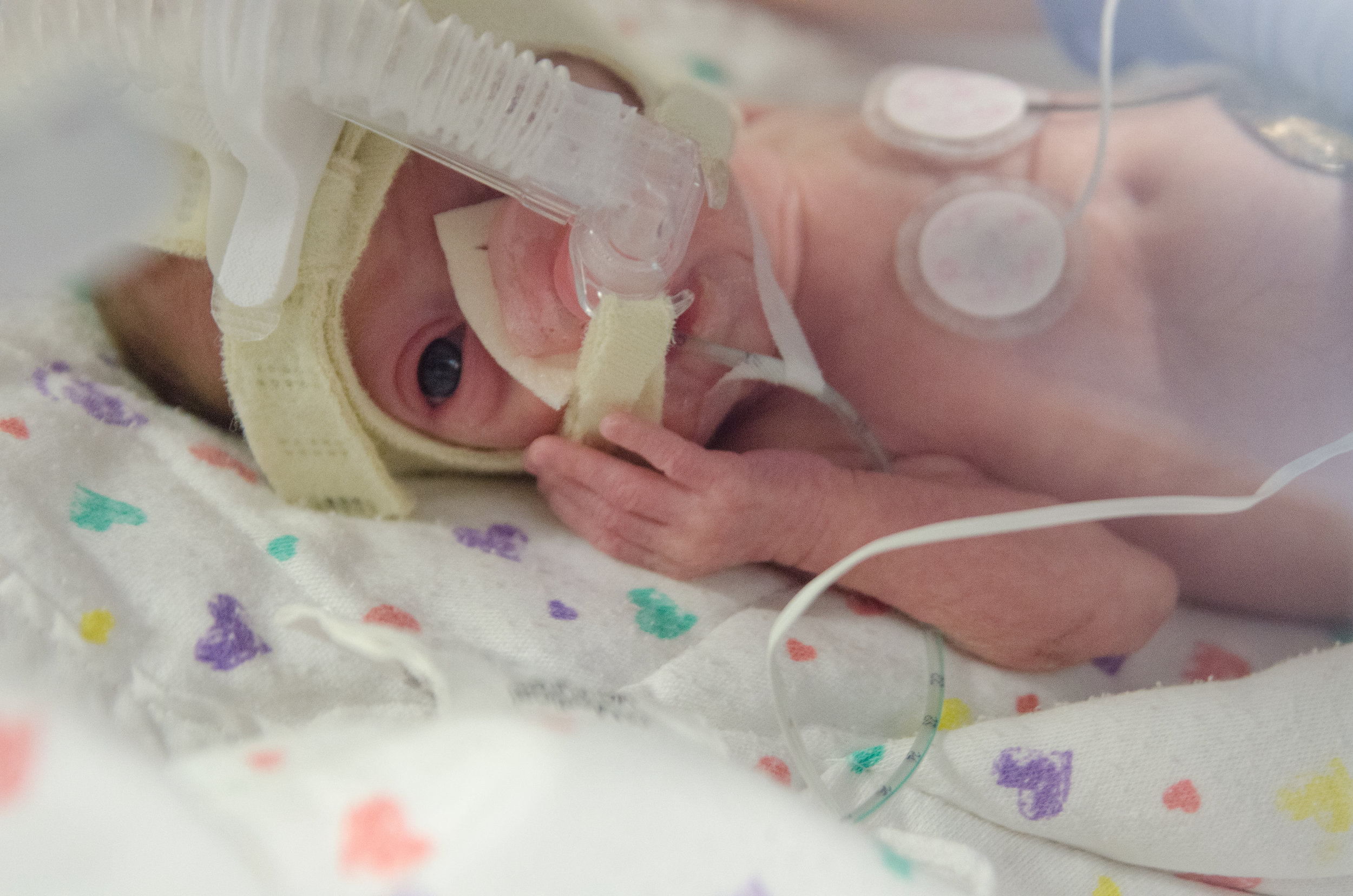isolating your preemie during flu & rsv season - she got guts