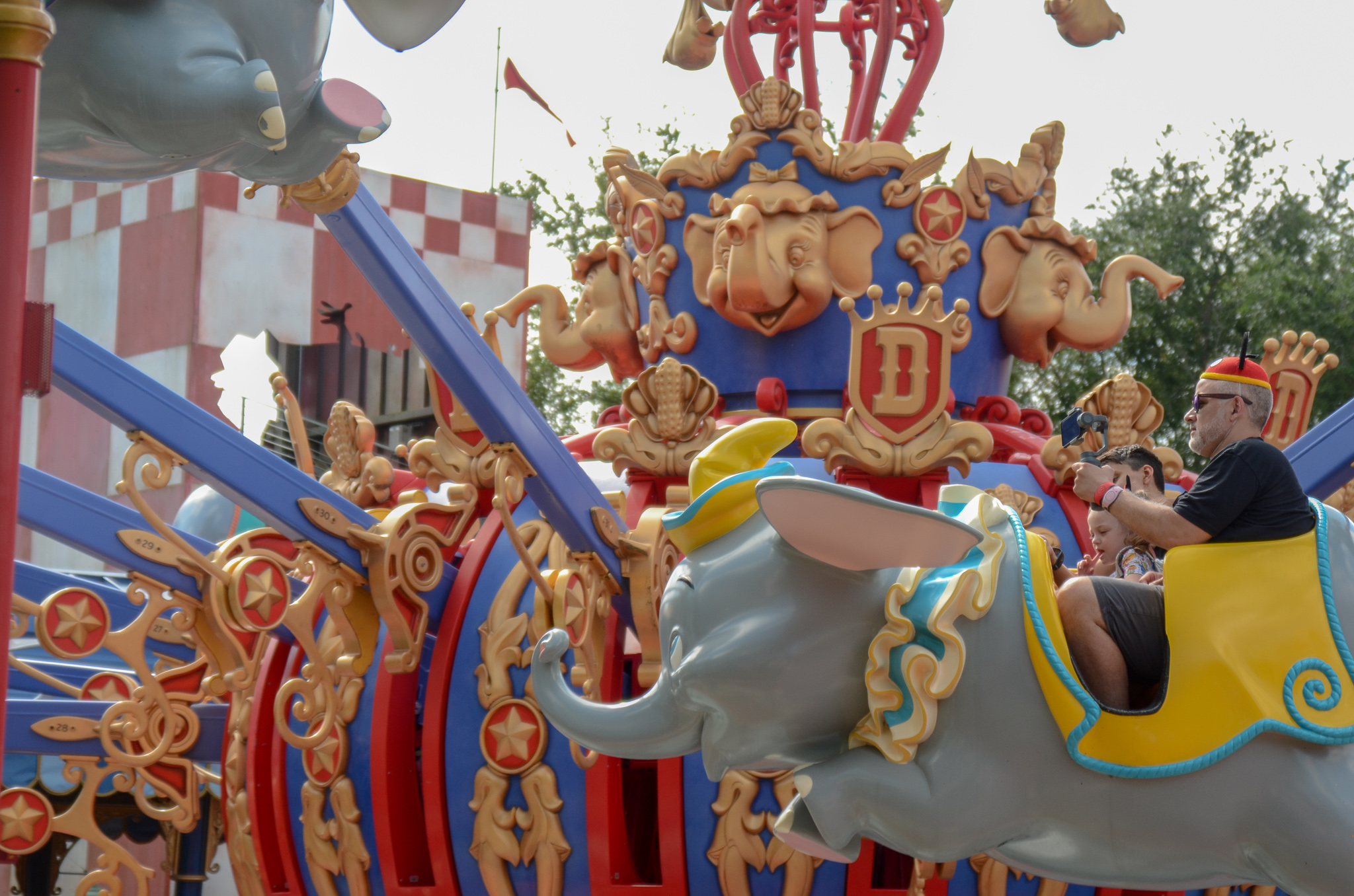 best attractions for toddler - dumbo- magic kingdom - she got guts