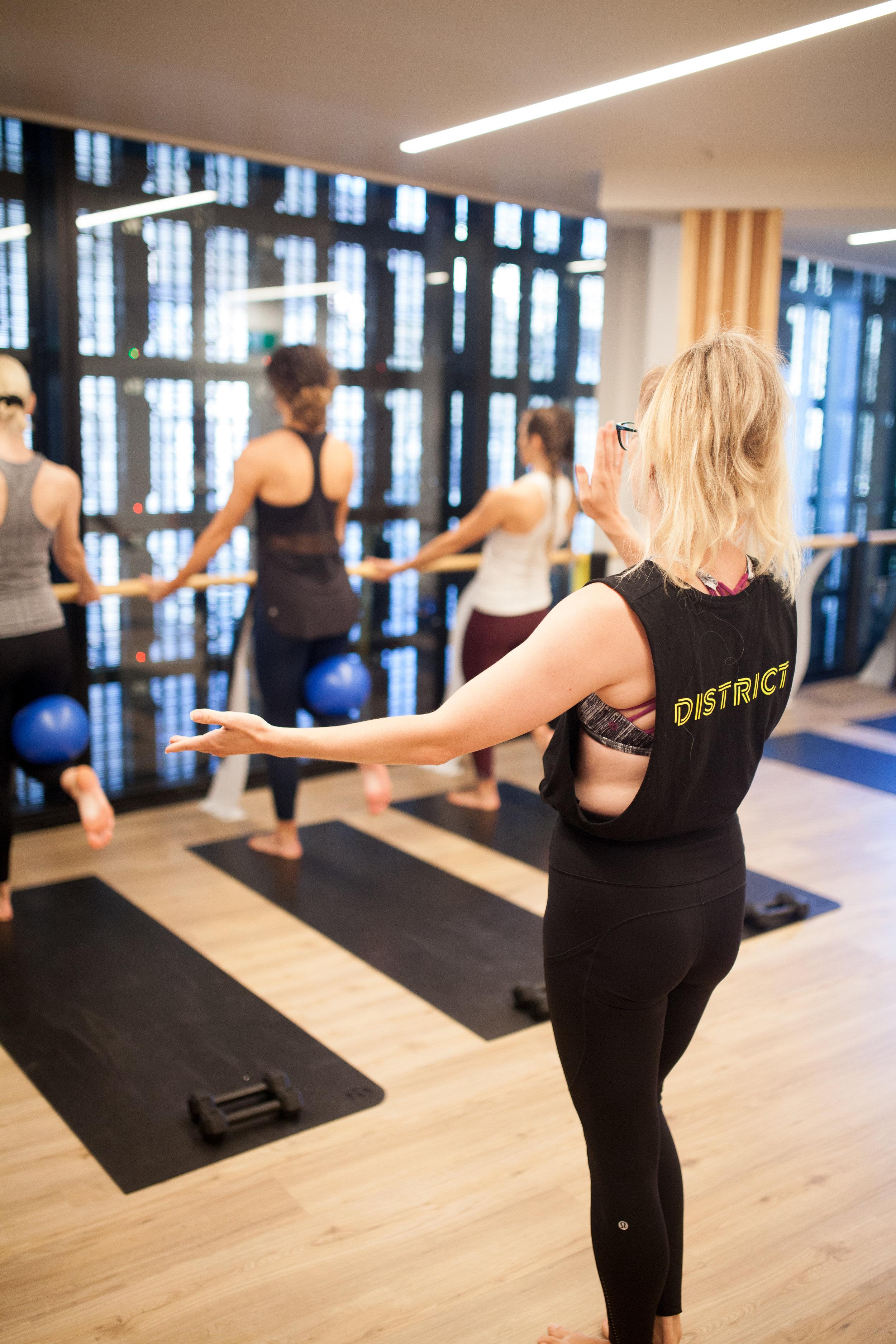 District Fitness Studios | Barre | Auckland CBD