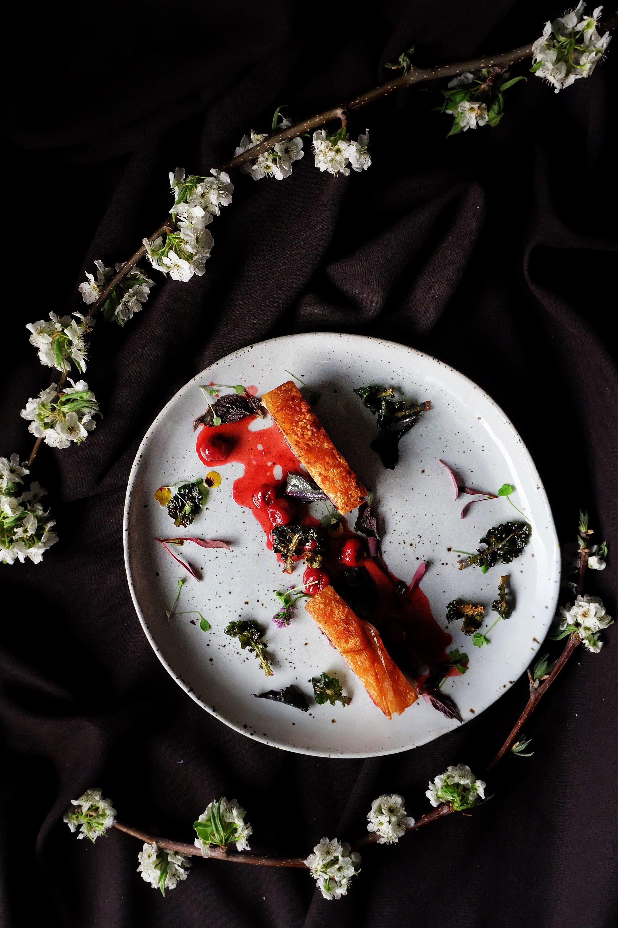 Cherry Pork Dinner at First Edition Canberra Restaurant