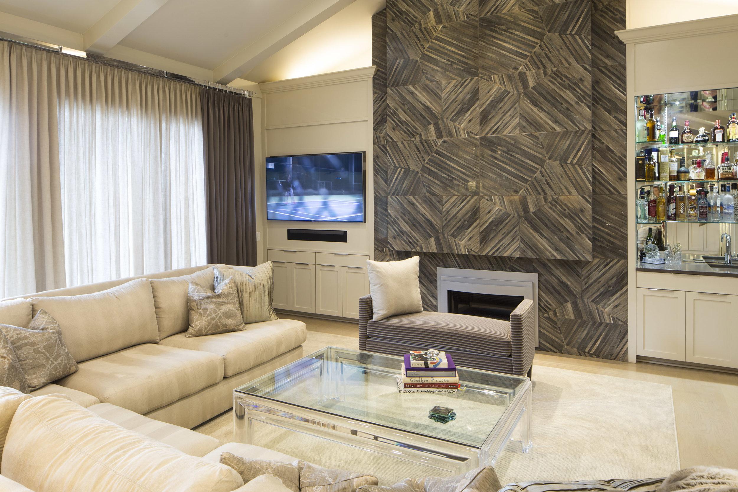 Sleek Monochrome Villa