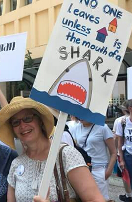 Debbie at march w sign.jpg
