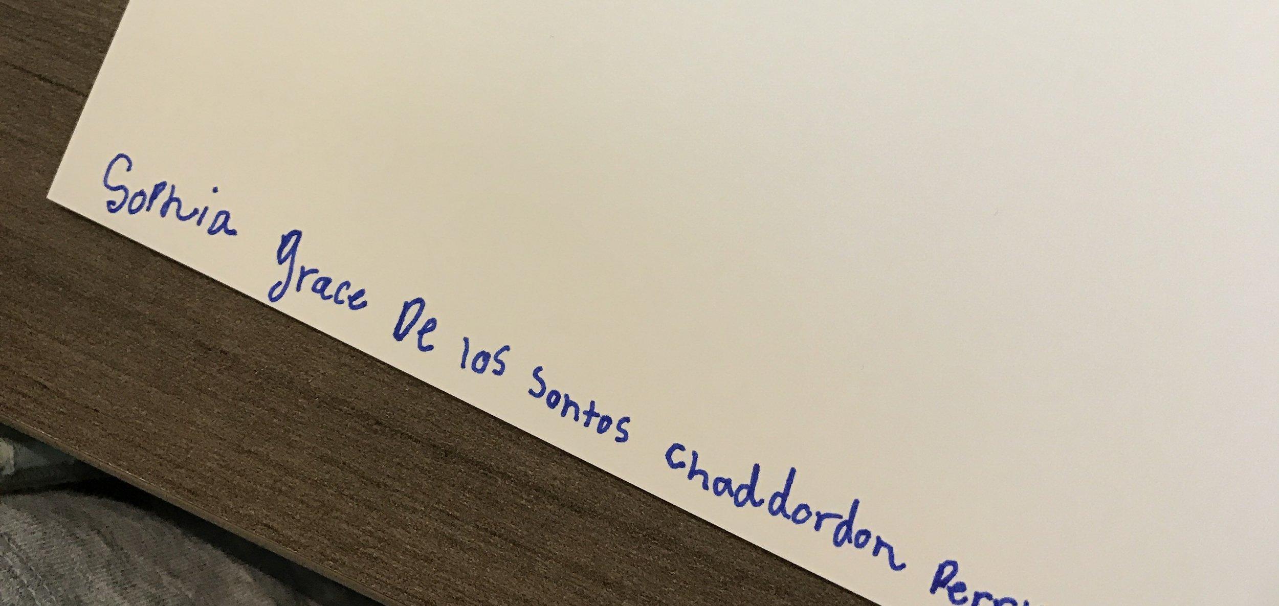 """""""Sophia Grace de los Santos   Chadderdon   Perry"""""""