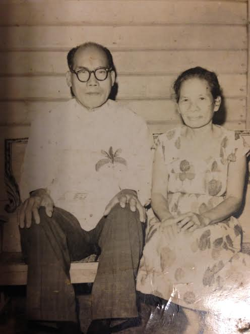 "My Father's parents: Frederico Ronquillo de los Santos (""Lolo Dicoy"") and Guadalupe Ortillo Murillo (""Lola Uping"")."