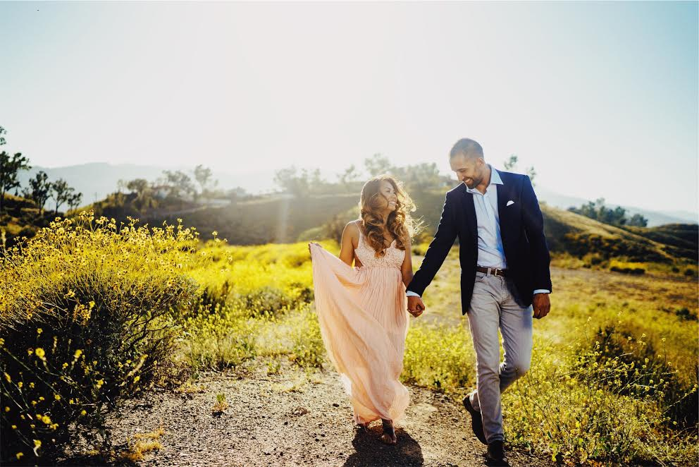 Engagement Photo by: Mike Villa, Villa Visuals \ Hair & Make-up by: Flawless Faces, Inc.