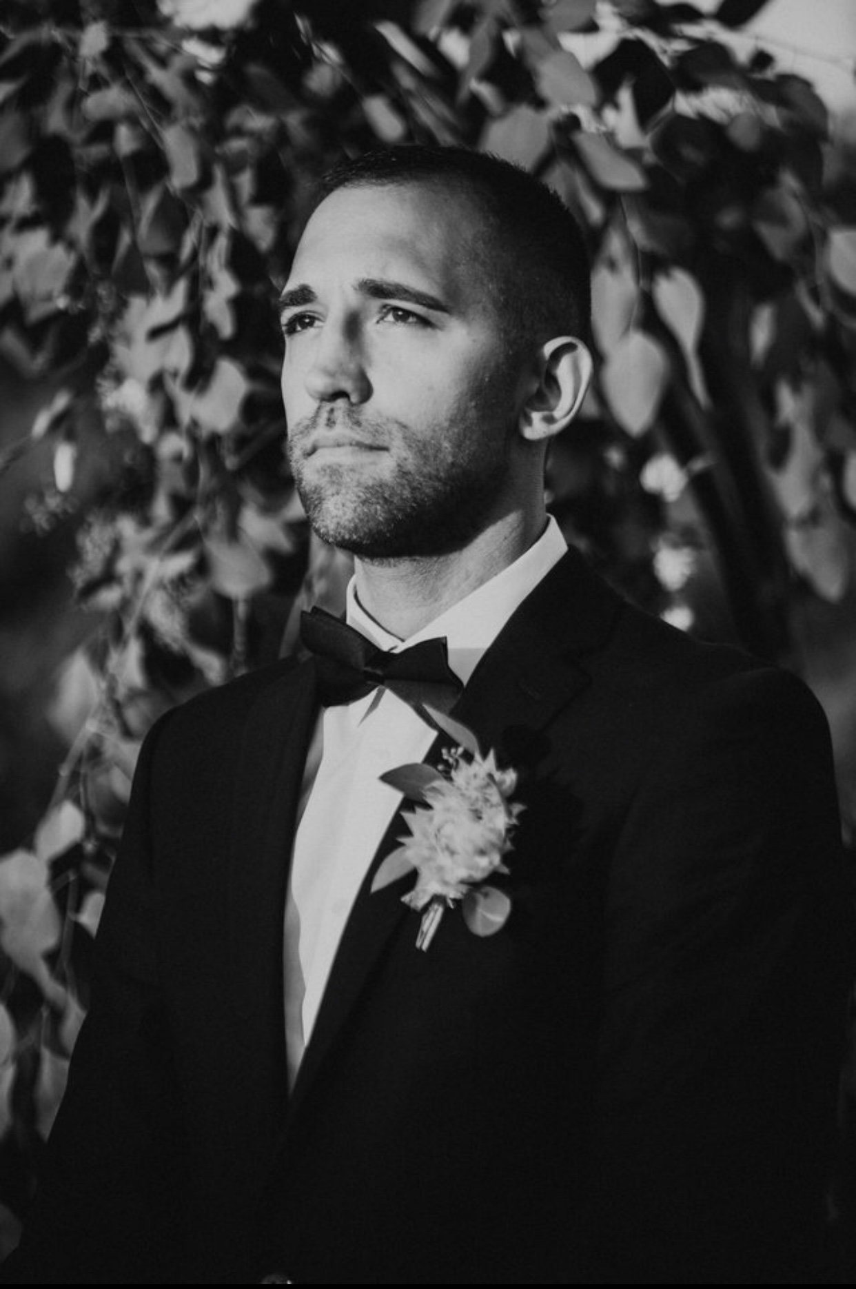The Bridegroom waiting for his Bride.