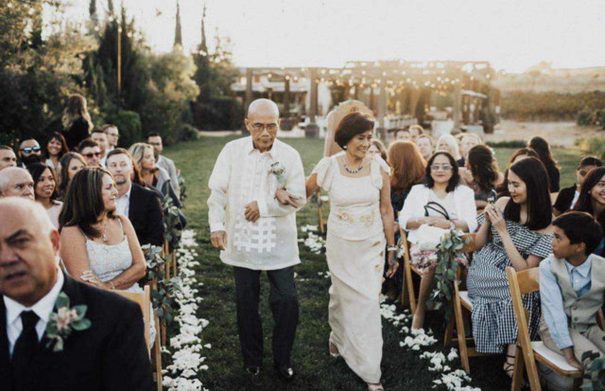 My parents: Rev. Walter & Rowena de los Santos