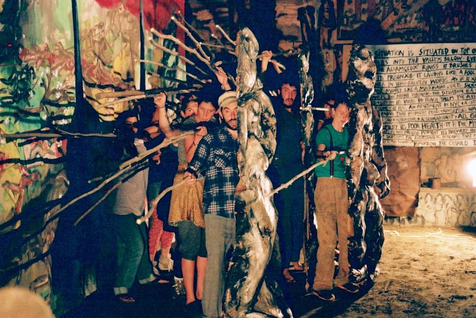 I apprenticed with the ever-inspiring Bread and Puppet Theatre in the rolling hills of Vermont in 2013