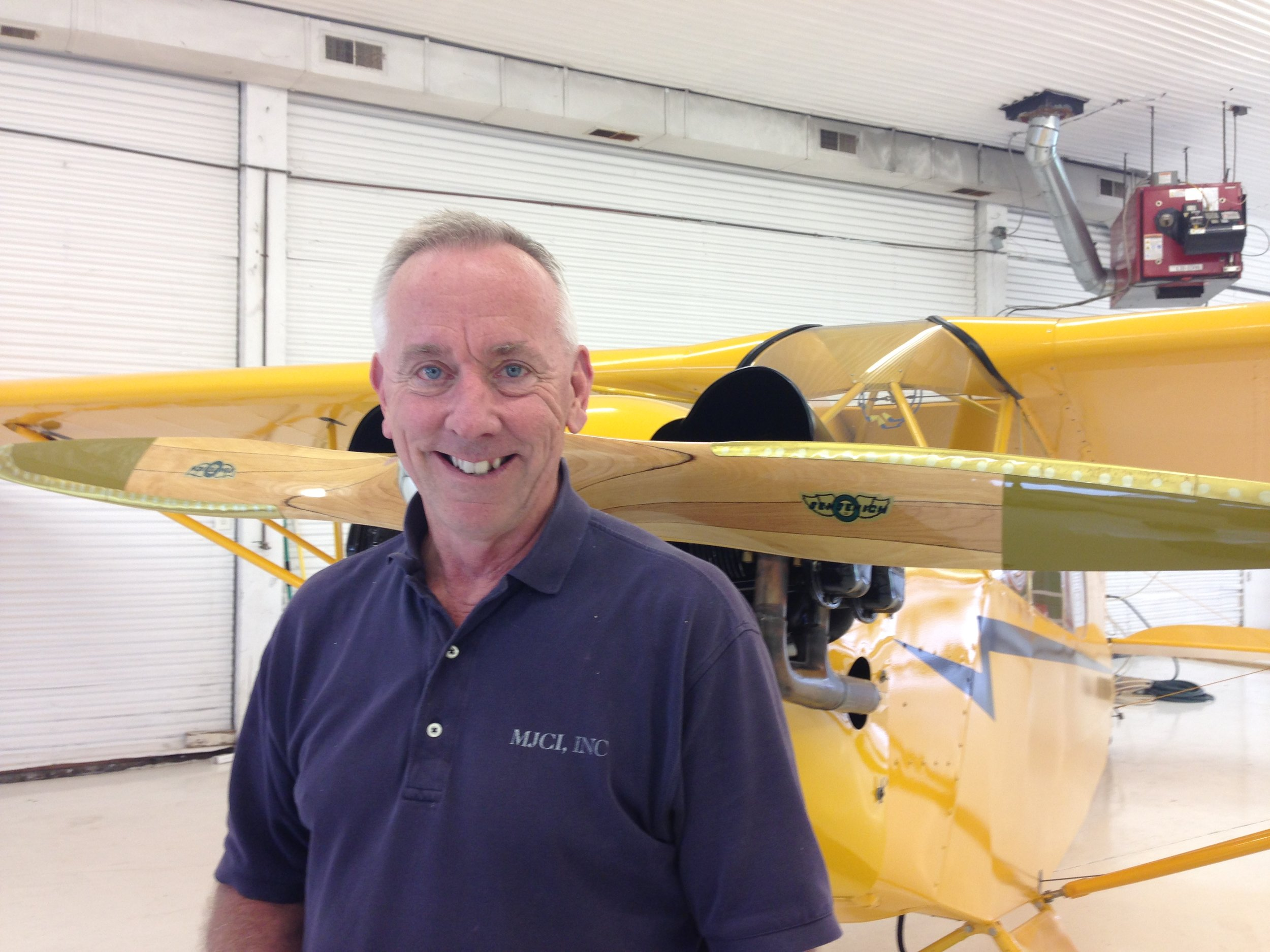 Mark Cross - Chief Flight Instructor – ATP, CFI, CFII, & MEIOwner and a Landscape Architect of MJCI, Inc., Design/Build Company in Fairfax, VA. Learned to fly in 1972 at New Garden Flying Field, Kennett Square, PA. Earned his Flight Instructor certificates in early 80's; chief pilot/director of operations and check airman for 135 operation in '84 - '87; air ambulance pilot in '86 - '87; part time corporate pilot during '87- '95; and the Chief Flight Instructor at Airport Services - APS Flight School since 2011. Restored and owns a 1940 J3 Cub. Avid fly fisherman. Enthusiastic for folks who really want to learn!