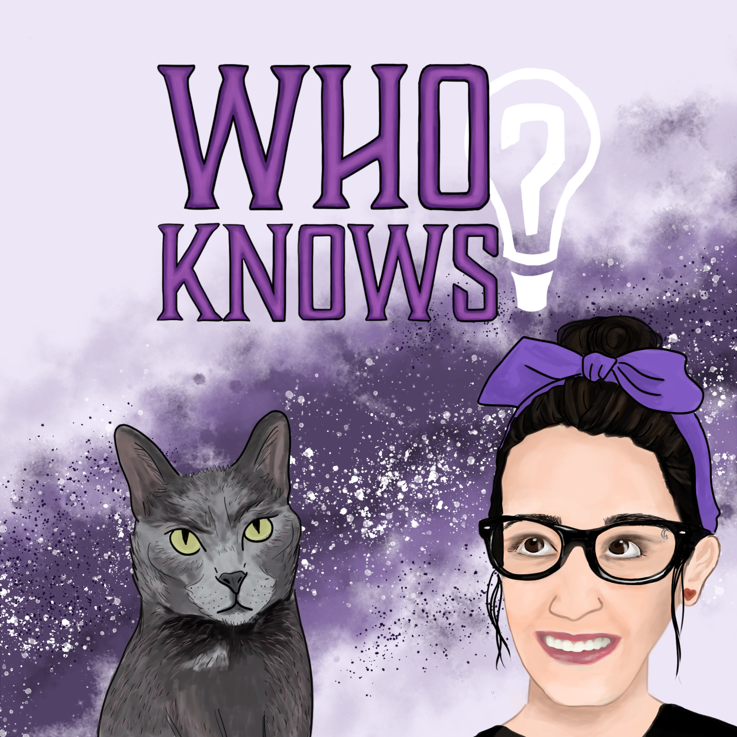 Who Knows?  is a podcast that checks up on the human condition. Often funny and always heartwarming this podcast should definitely be added to your weekly rotation. Go to the website and hit that 'subscribe' button !