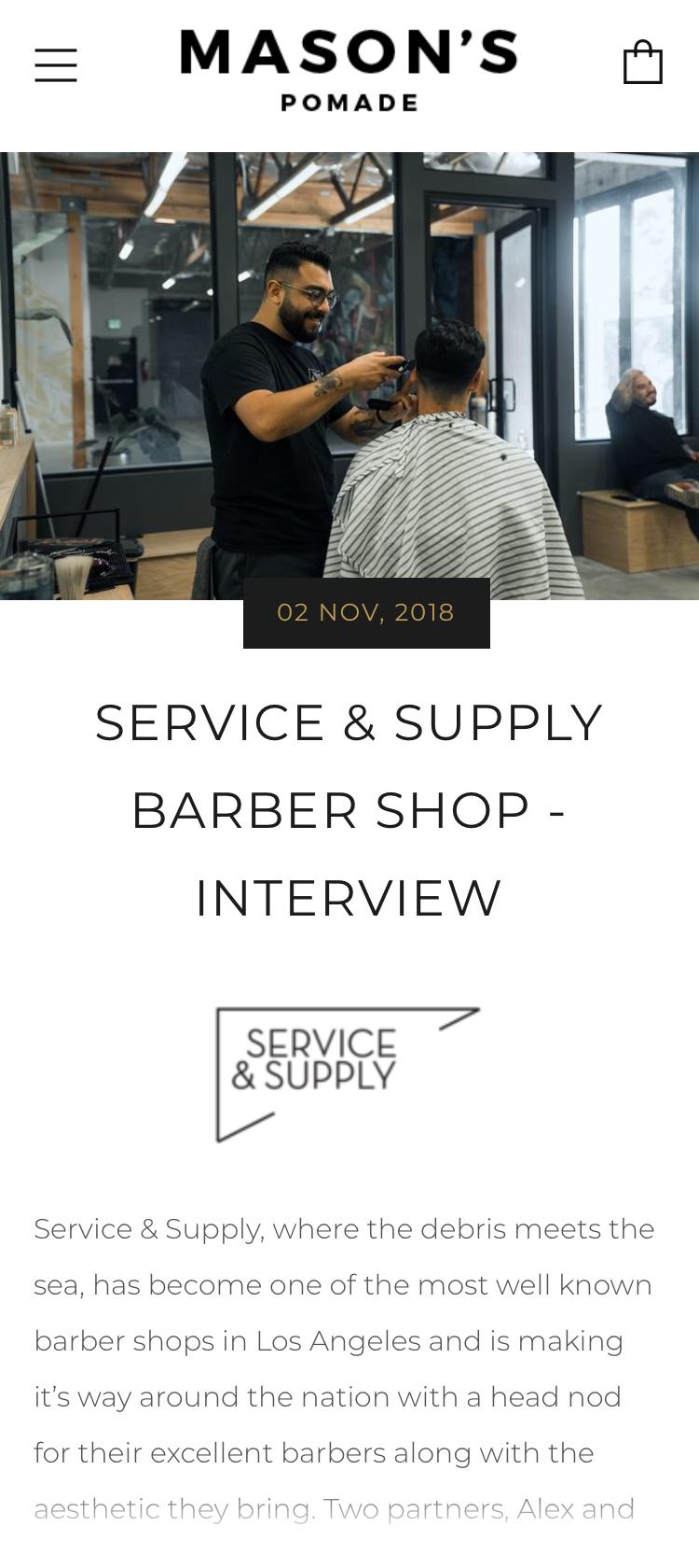 Los Angeles Barbershop