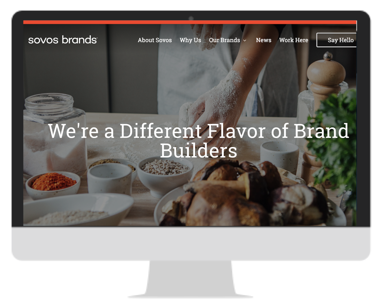 Sovos: A new flavor of corporate website