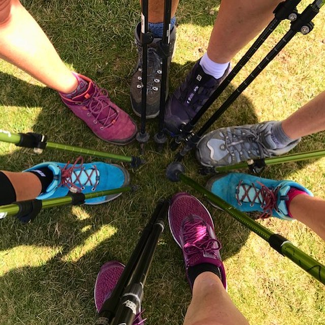 "We were delighted to hear back from one of our patients, Claire, who sought us out to fix her injury to get ready for the #Camino! In her own words, here's how she got on •• ""I was planning to walk stage 1 of the Camino but an old knee injury was the hurdle to jump before I could contemplate crossing the Pyrenees. I opted for a Run 360 3D gait analysis to help manage my walking with my painful calves and wobbly knee. The detailed, but not too time consuming, analysis confirmed the problem was being exacerbated by one leg being slightly longer than the other, a need to shorten my gait and strengthen the hamstrings, among other things 💪 So after a few weeks of physio, focused exercises such as squats & bridges, focused stretching and adapting to insoles I felt much more stable on my feet and ready for a 100+km walk 👣 We set out from Ostabat near the Pyrenees and arrived in Pamplona after four days, two countries, a minor blister, some yoga and lots of Run 360 recommended stretching. I walked an average of 25km a day and much of it was uphill ⛰ One of the days involved a steady ascent from St Jean Pied de Port (200m sea level) to 1400 metres and a steep, rocky descent into Roncesvalles (900m) in Spain. With the aid of poles and the strength my knee regained from the Run 360 programme I was able to keep up and keep going. I am already planning my Camino walk next year and will be taking on some of the Wicklow mountains over the coming weeks. Onwards and upwards – literally"" 🙌  #physio #physiotherapy #caminodesantiago #chronicpain #recovery #mobility #strength #instafit #irishfitfam #trek #hiking #train #gains #hiker #trail #trekking #mountain #travel #adventure #buencamino #santiagoways #vivecamino #caminofrances"