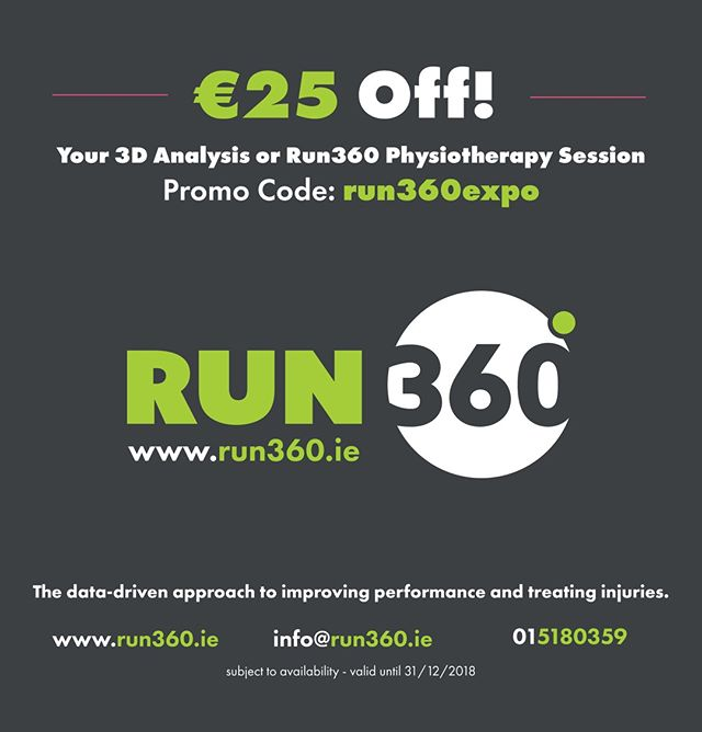 Collecting your race number for the @dublinmarathon this weekend? Come and say hello 👋 at the expo in the RDS! We'll have some goodies for some lucky runners & are running an exclusive discounted offer on our 3D analysis. Plus we have some FREE mini analysis sessions available - DM us for details 👣🏃‍♀️🏃‍♂️ ••• #physio #physiotherapy #fitfam #injury #fisio #athlete #physique #gains #Irishfitfam #Irishrunners #dublinmarathon #train #mobility #recovery #marathon #dublinrunners #ICANIWILL #Instarun #runhappy #runitfast #runnerscommunity #runners #furtherfasterstronger #marathonrunner #dublinfitfam #runningcommunity