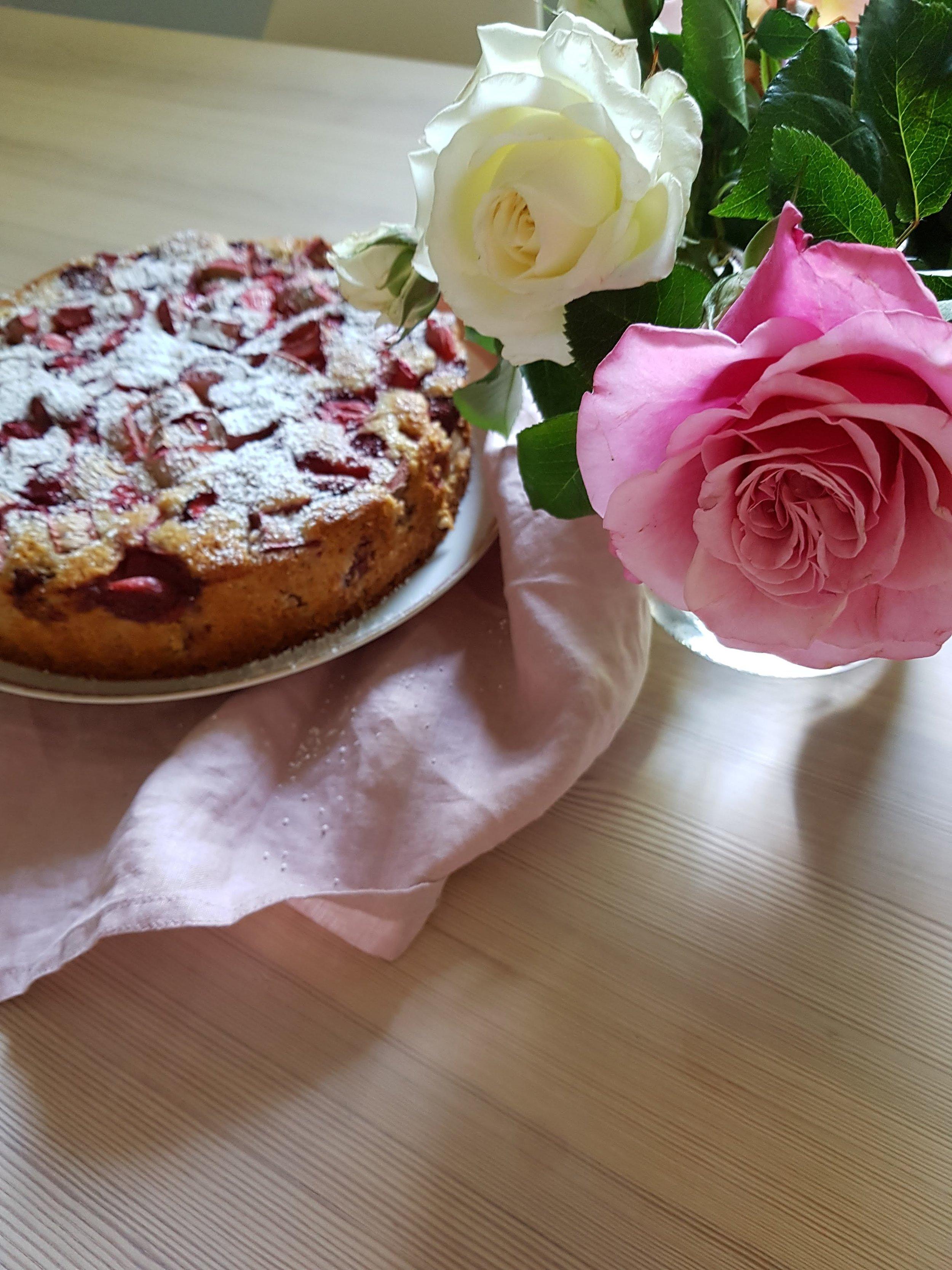 Rhabarber-Kuchen