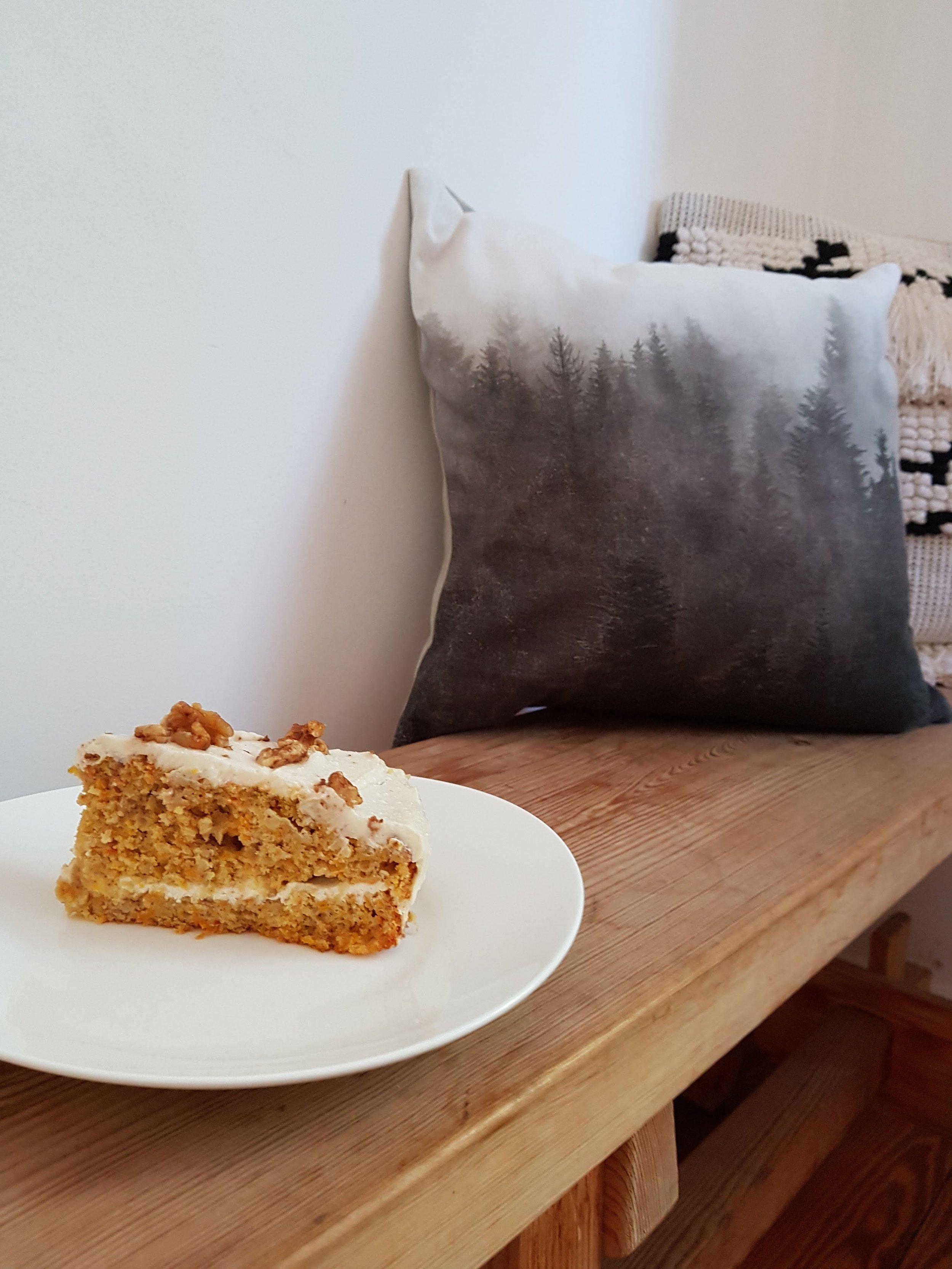 Kürbiskuchen Karottenkuchen Ricotta Ahornsirup