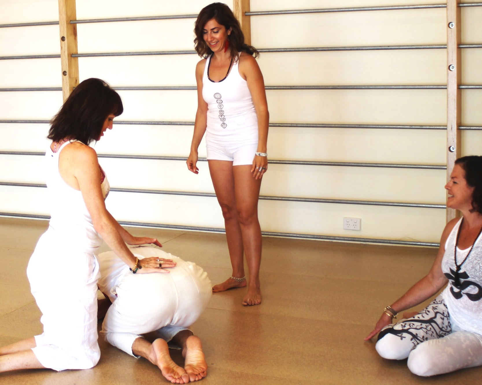 1 and 3 Month Mentorship Programs for Yoga Teachers - We provide new teachers with short and long term guidance to learn and practice new sequences, variations and pose adjustments in class, and tuition and support in bringing them to your own students.We encourage you to bring the problems and issues (which all new teachers face) to light and help find practical solutions.Find support and direction to develop your style and be confident in what you are teaching.Apply in writing or call us to discuss. We are here to assist and enhance as your teaching evolves.