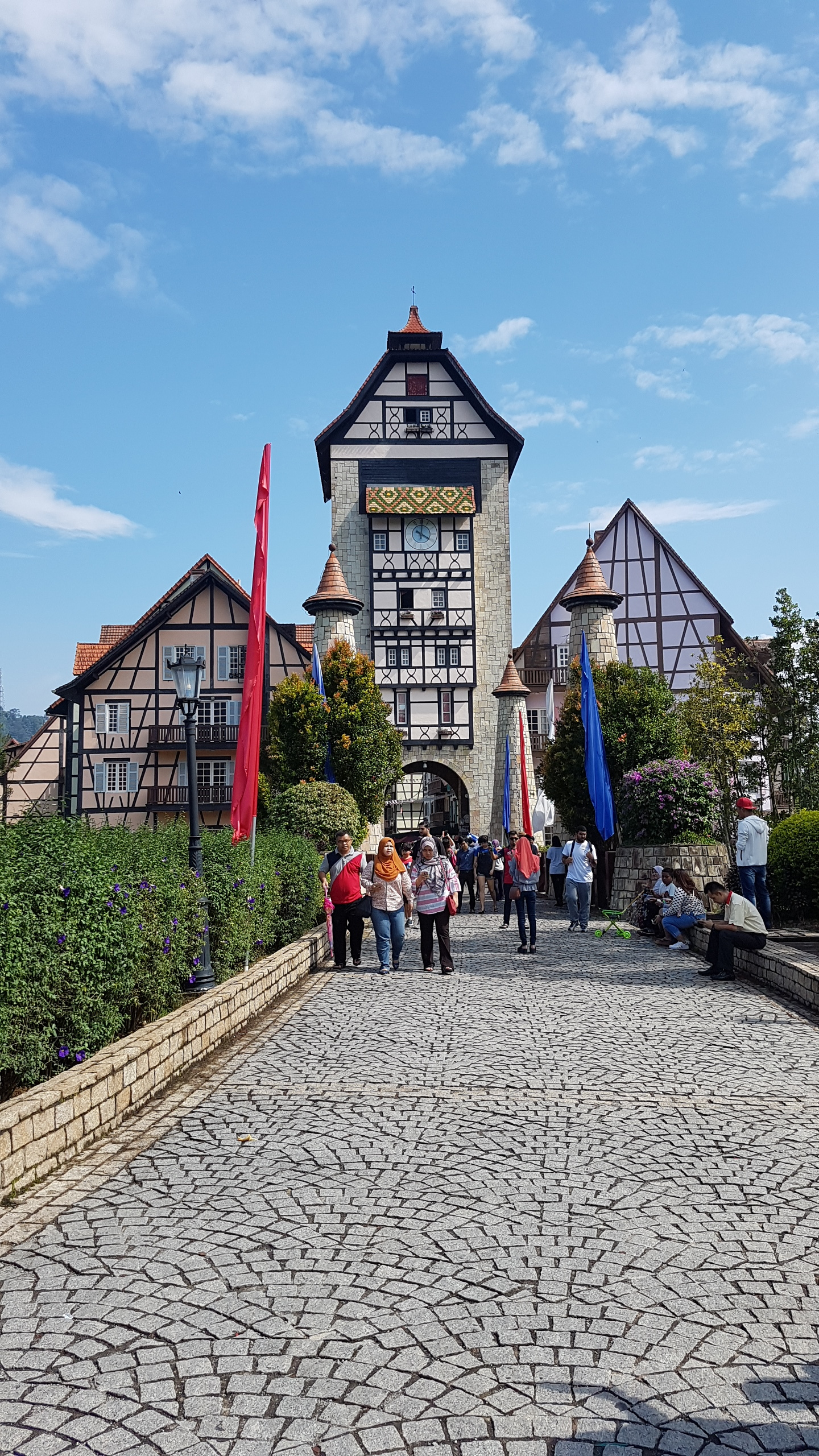 French Themed Village, Colmar Tropicale in Berjaya Hills