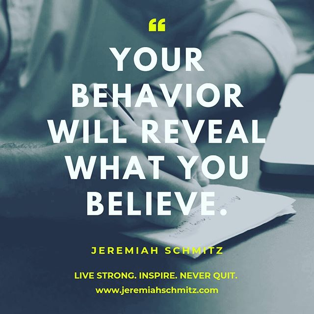 Your actions speak louder than your words. Tie you belief to your actions and your actions will reflect your believe and also generate motivation. Your actions may result in unbelief in the minds of the negative, yet at the same time build belief in the minds of the positive.  www.jeremiahschmitz.com  #quotes #quote #motivation #quotestoliveby #instagood #success #love #mentor #money #hustle #entrepreneur #entrepreneurship #entrepreneurlife #luxury #motivational #leadershipcoach #gym #workout #bodybuilding #fit #business #fashion #inspiration #goals #lifestyle #marketing #leadership #beastmode #gymlife #fitnessmotivation