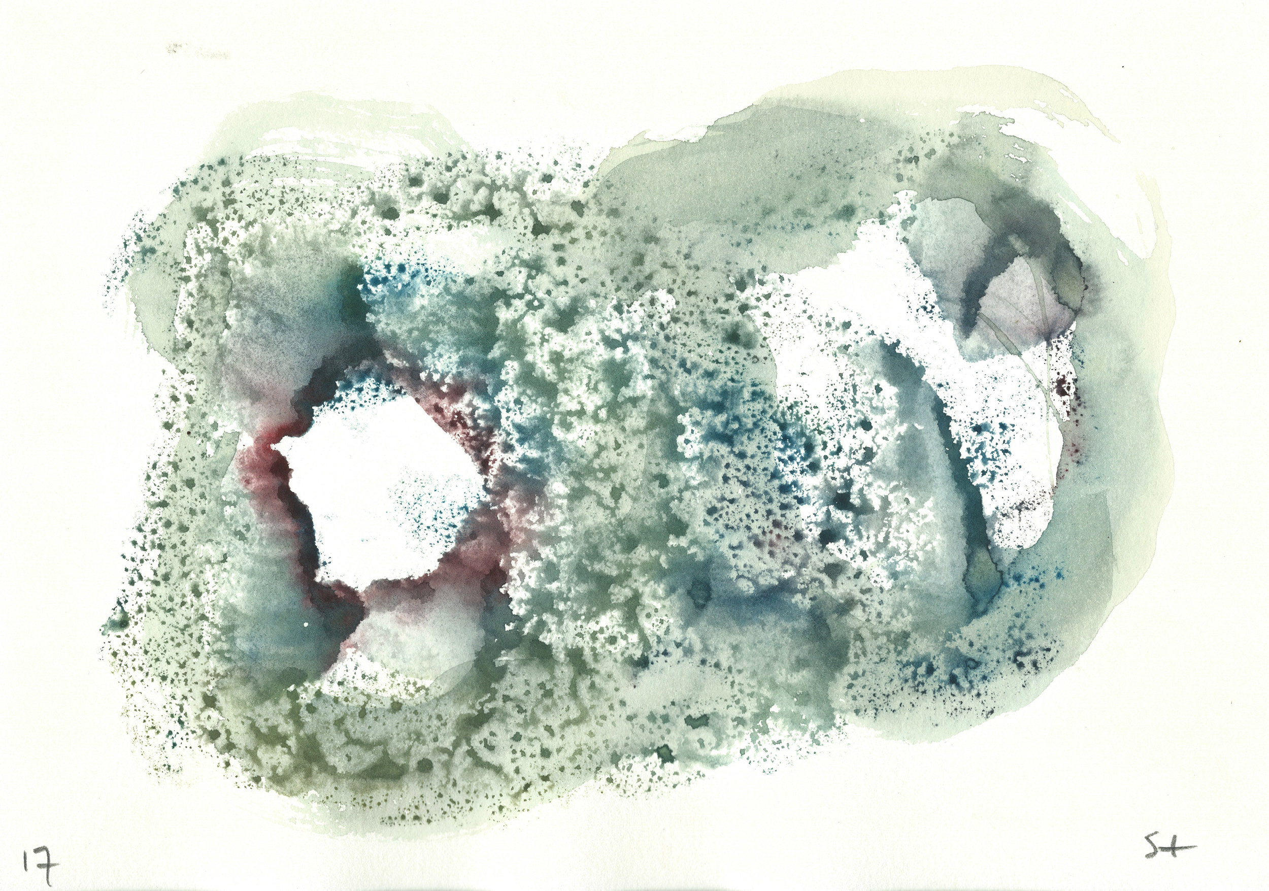 Stephen Thomas, Yoga, Yoga-Svarupa, watercolor 04