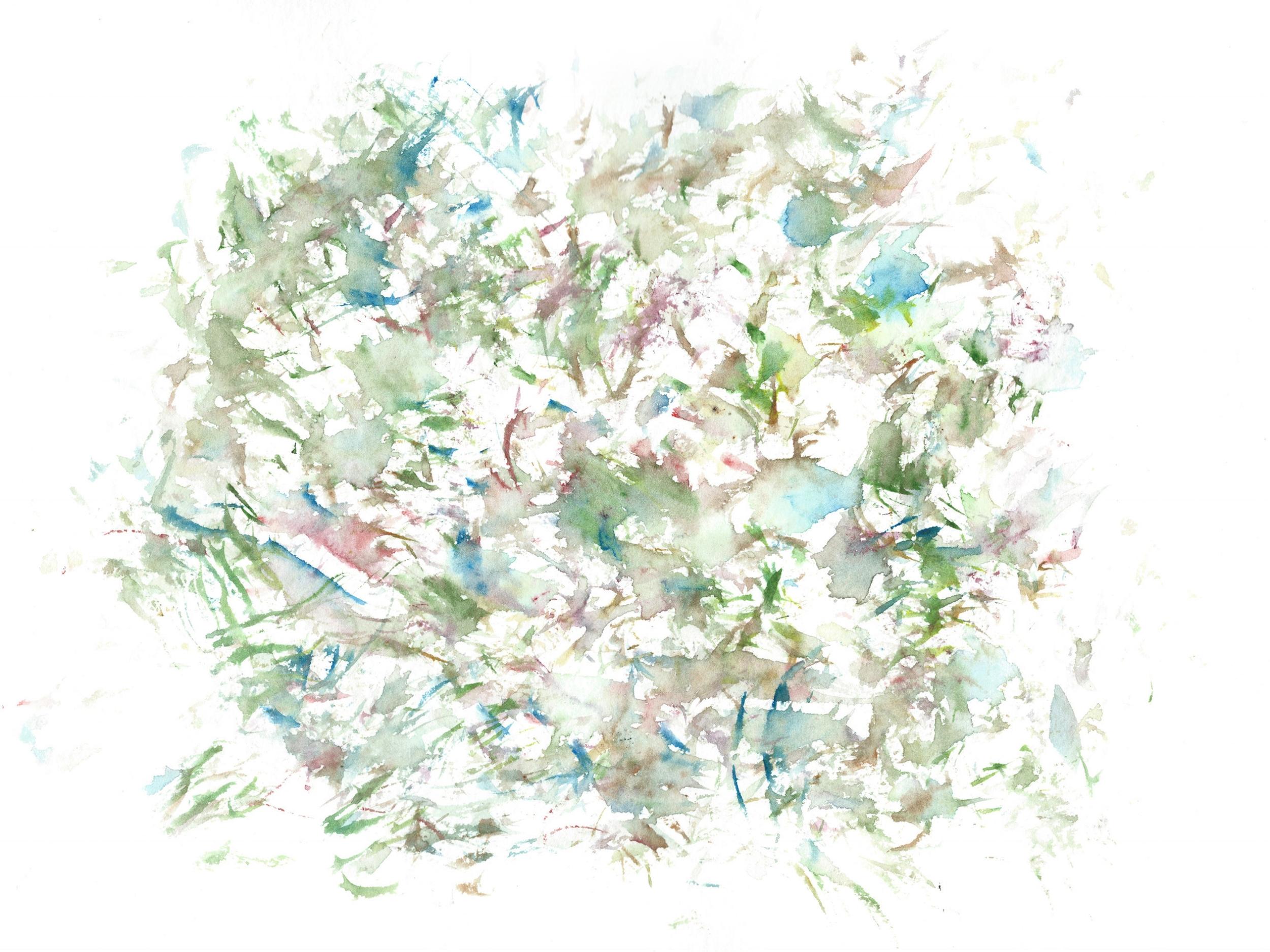 Stephen Thomas, Yoga, Yoga-Svarupa, watercolor 19