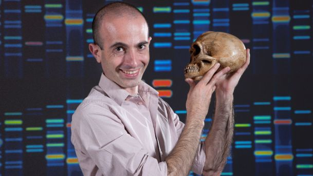Yuval Noah Harari himself. His TED talks are very insightful too - go check them out