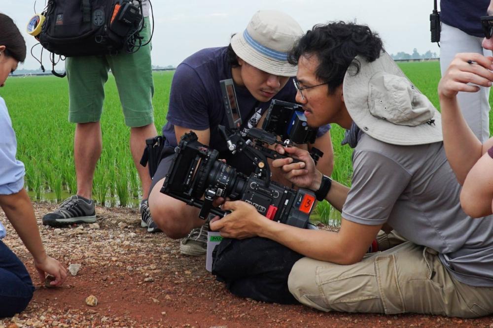 Khairulhakim shooting and directing his directorial debut short film, KARA, in Malaysia.