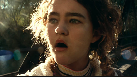 Deaf actress Millicent Simmonds was a revelation in the film. And she didn't say a word.