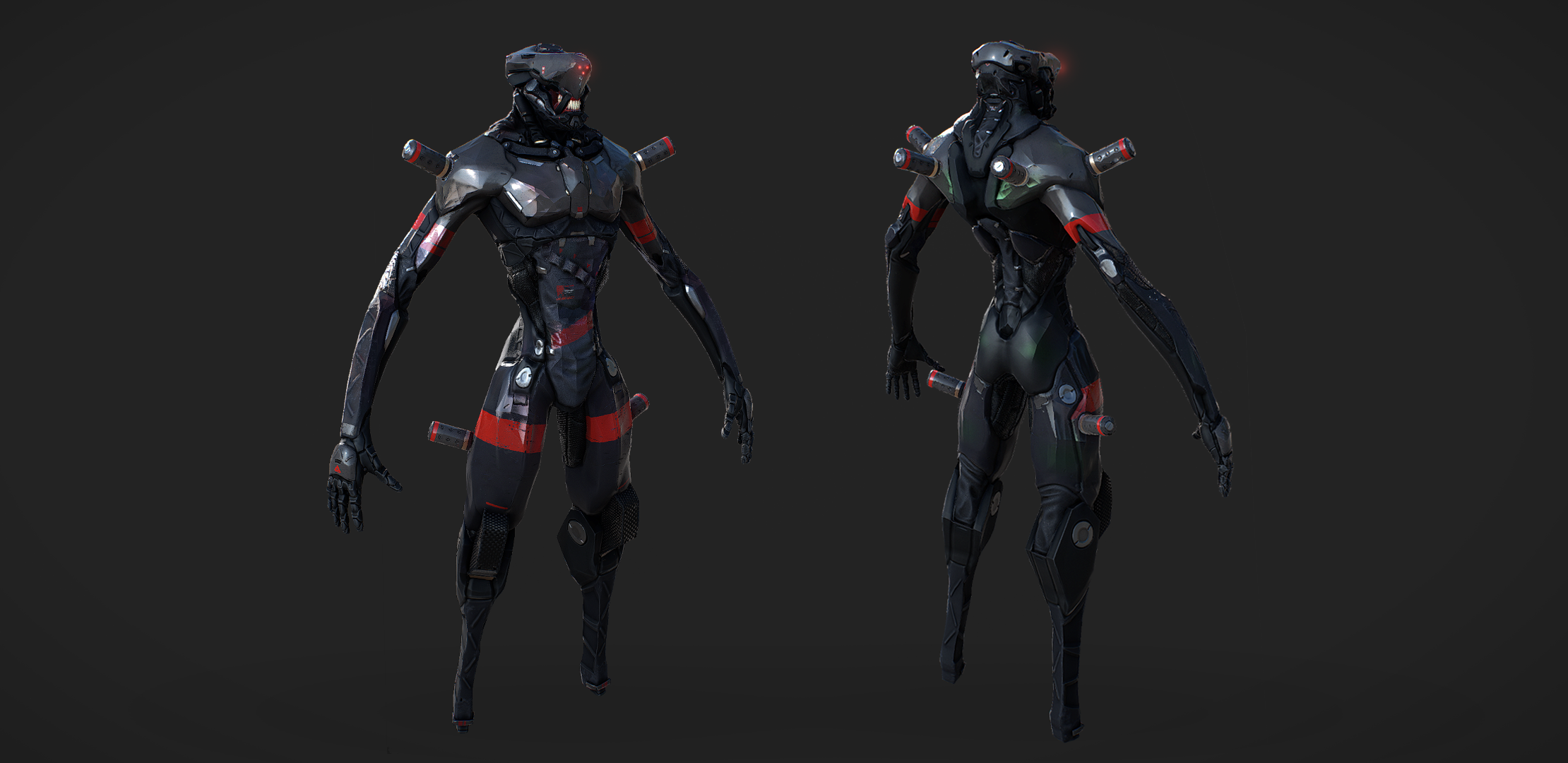 A render of The Cure's cyborg minion completed by CraveFX.