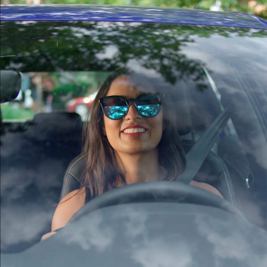 Screenshot from Volkswagen video