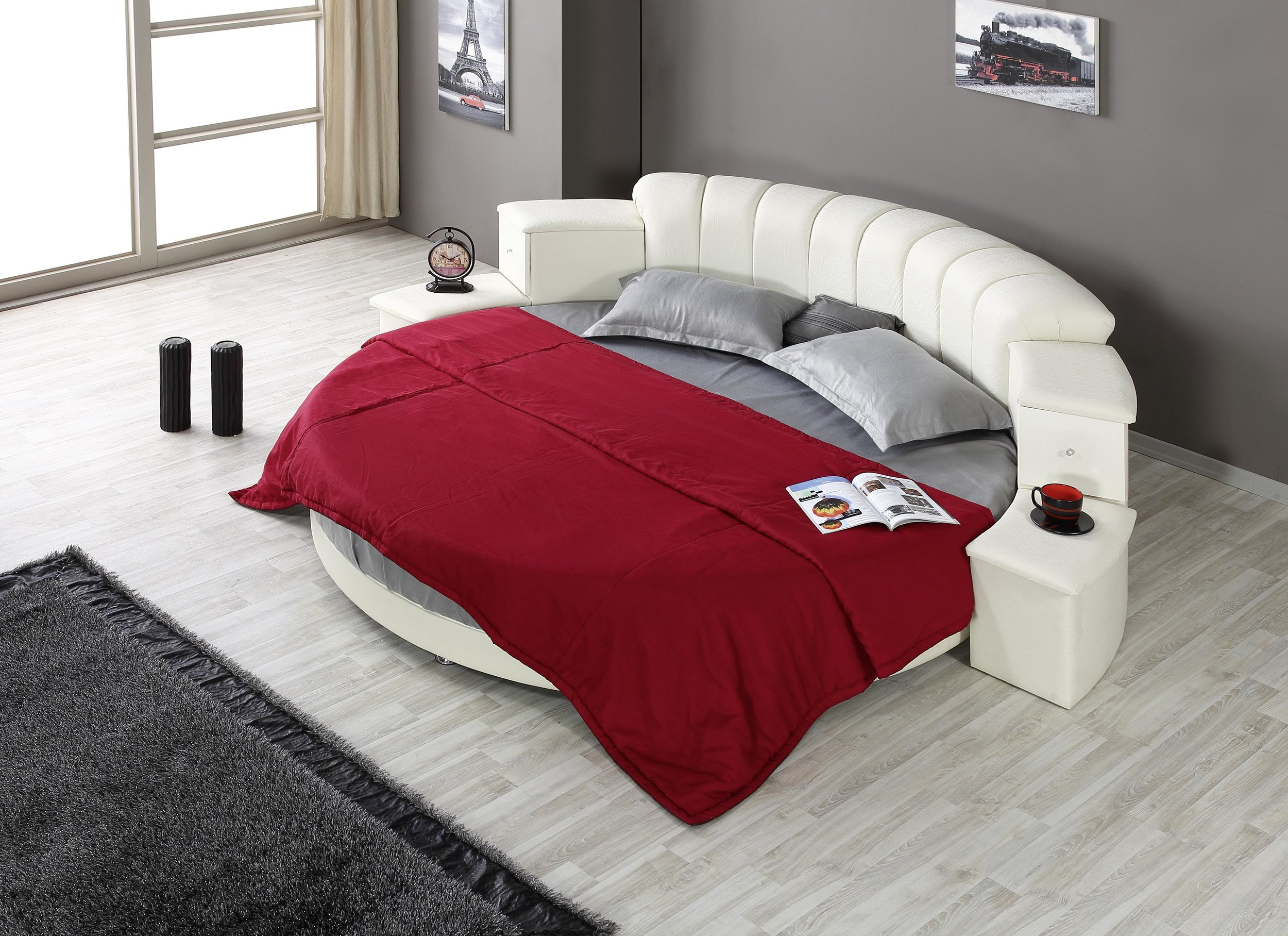 Asi Round Bed
