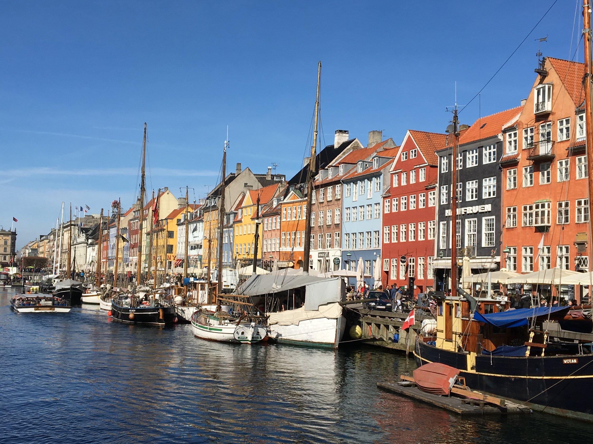 Copenhagen's picturesque Nyhaven District