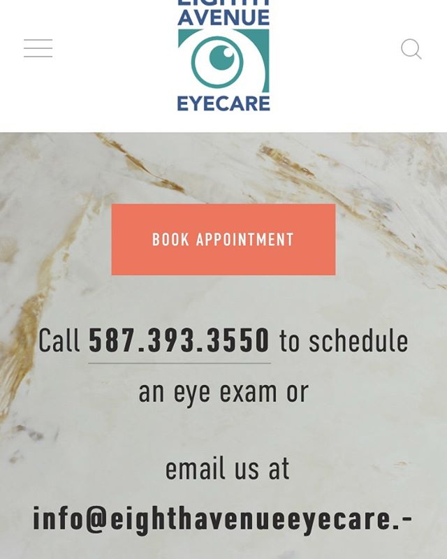 Check out our website to find out about our sales, products, and services! You can even book your next routine eye examination right there! 🧿 www.eighthavenueeyecare.com #eyeexam #downtownyyc #getyoureyeschecked