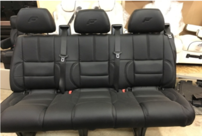 "Recover Mercedesbench Seats w/ ""F"""