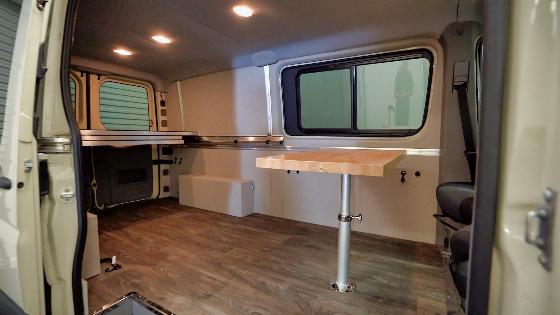 conversion van fold up bed Freedom Conversions