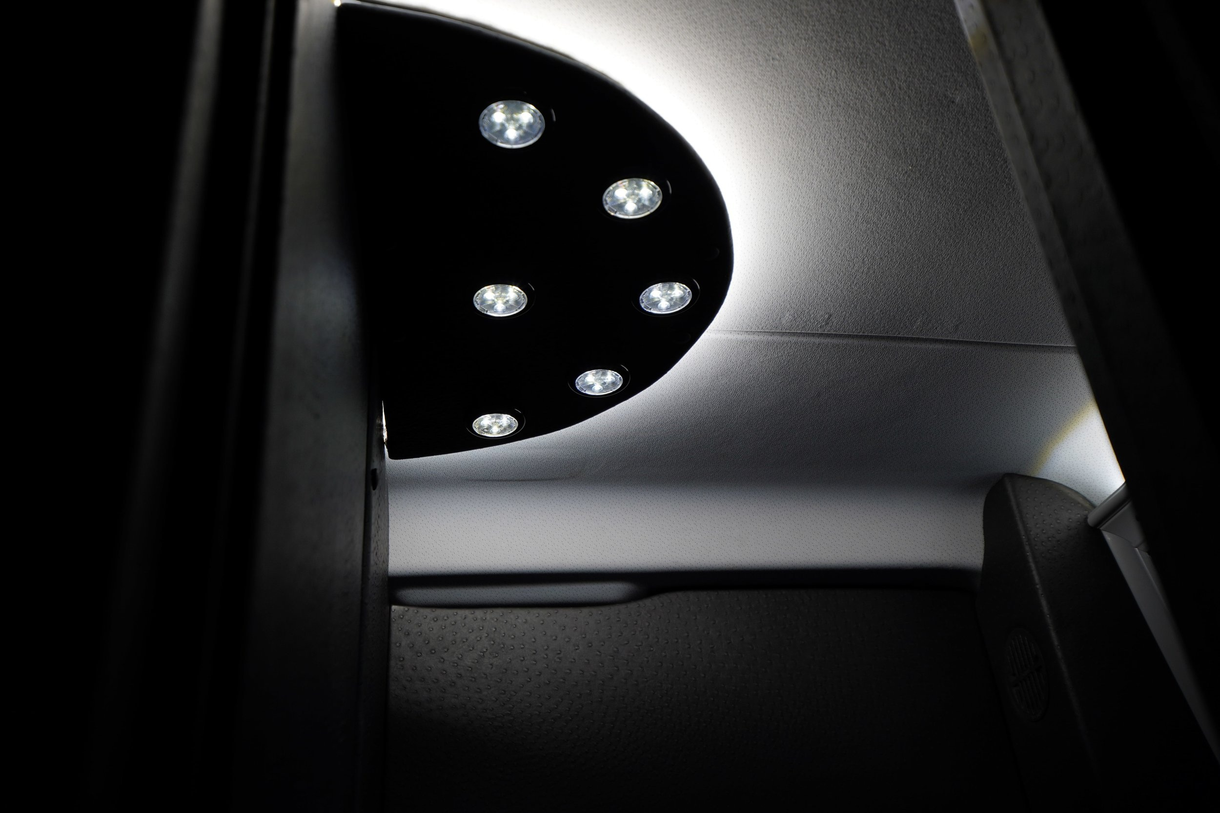 Van lighting - Freedom Conversions