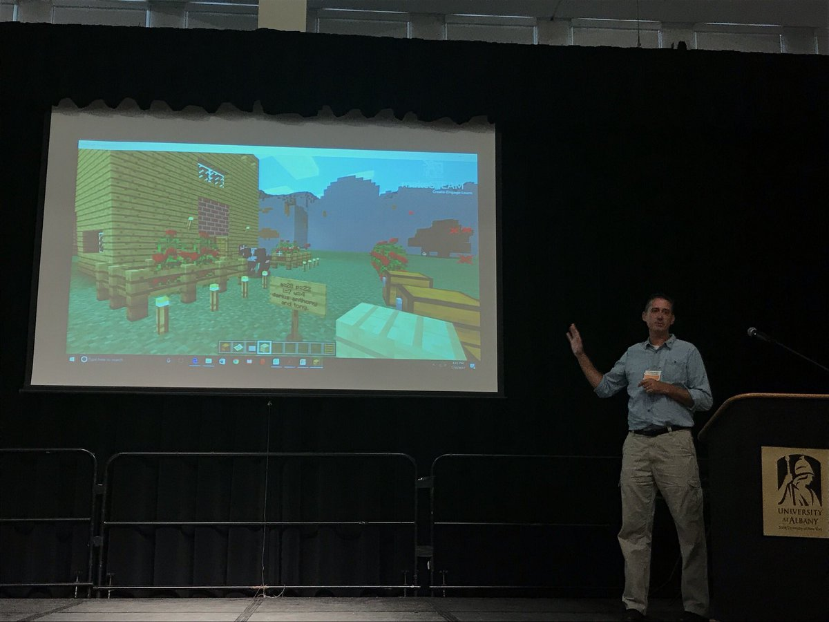 Games in Education Symposium, Albany, NY, August 2017