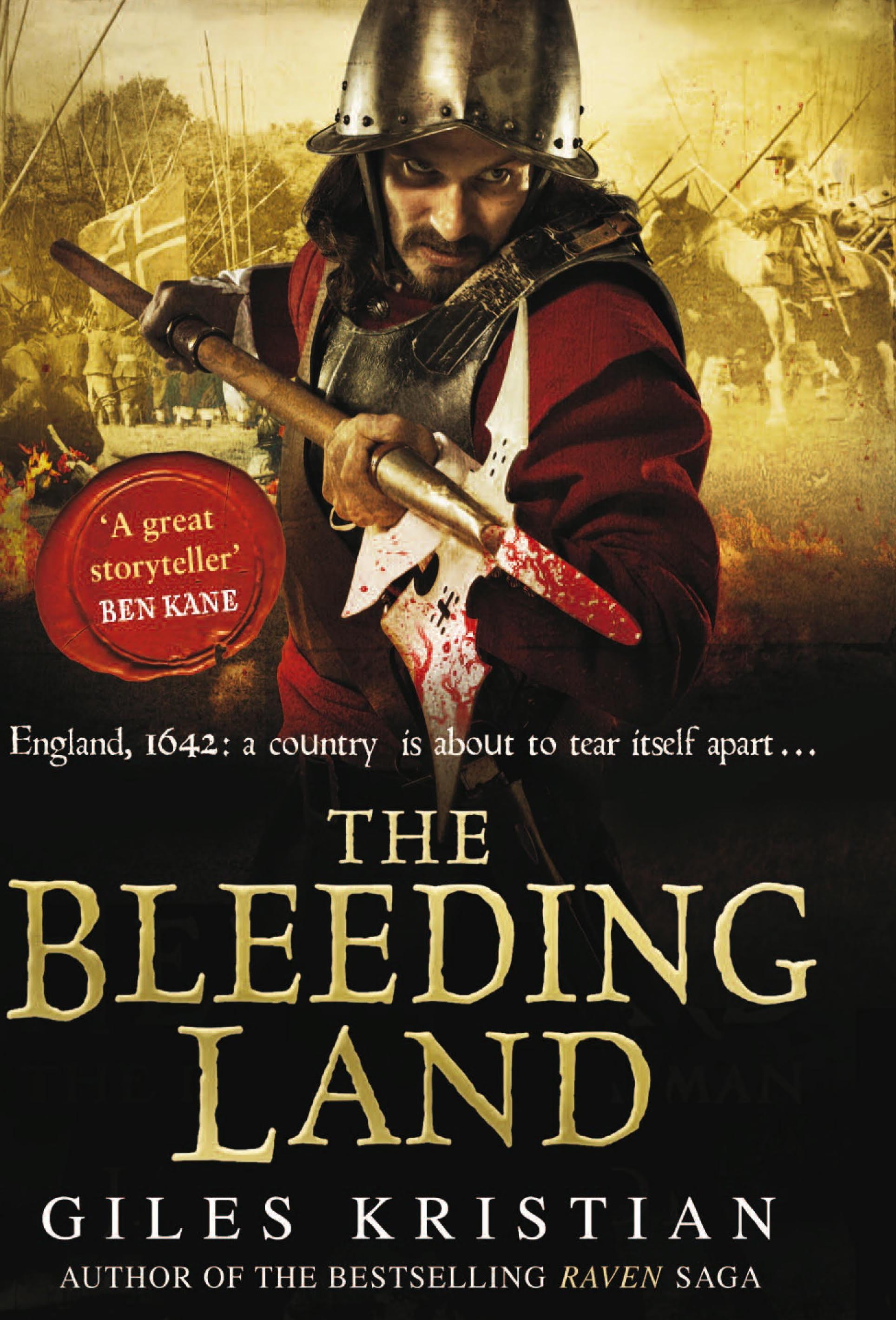 The Bleeding Land by Giles Kristian