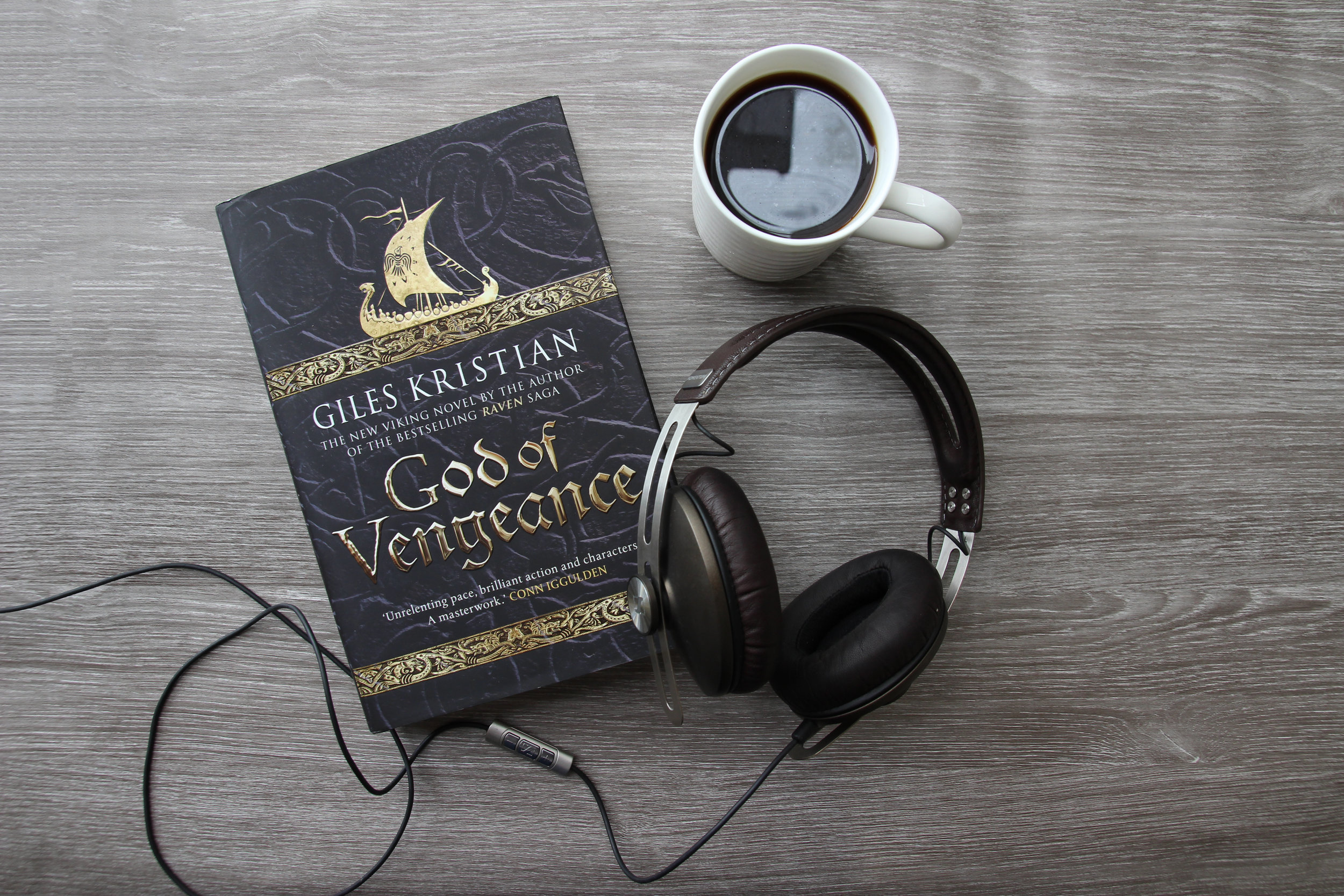 God of Vengeance Audio Book by Giles Kristian