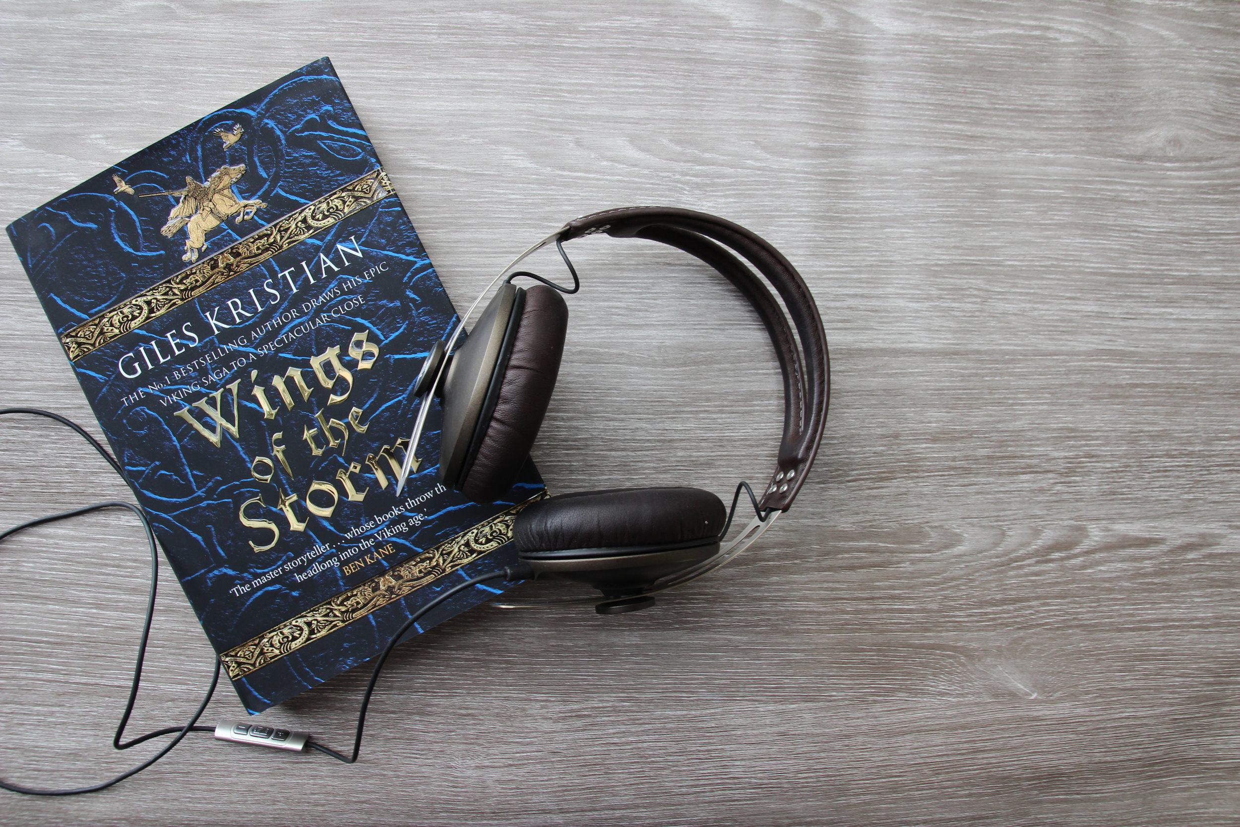 Wings of the Storm Audio Book by Giles Kristian