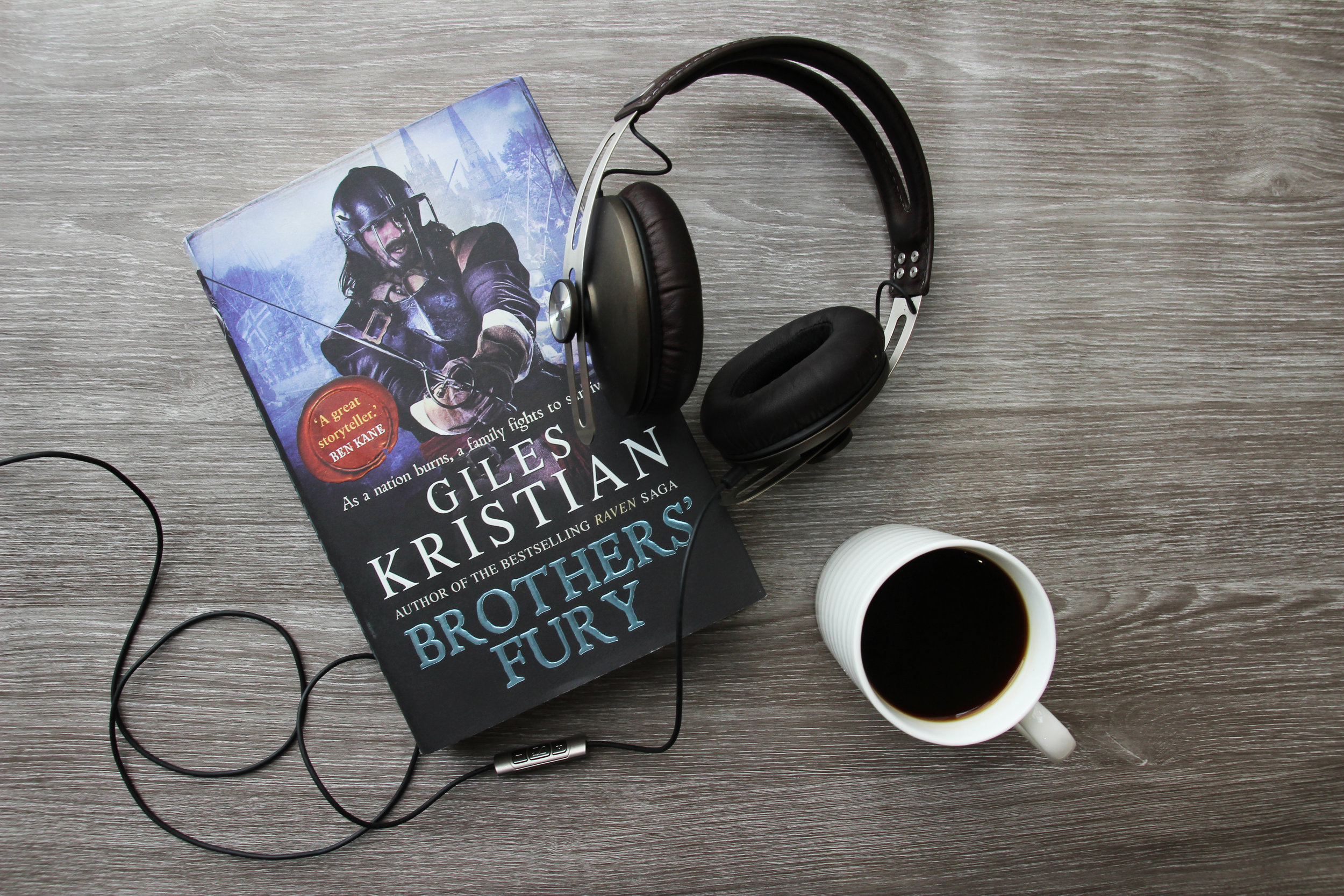 Brothers' Fury by historic author Giles Kristian