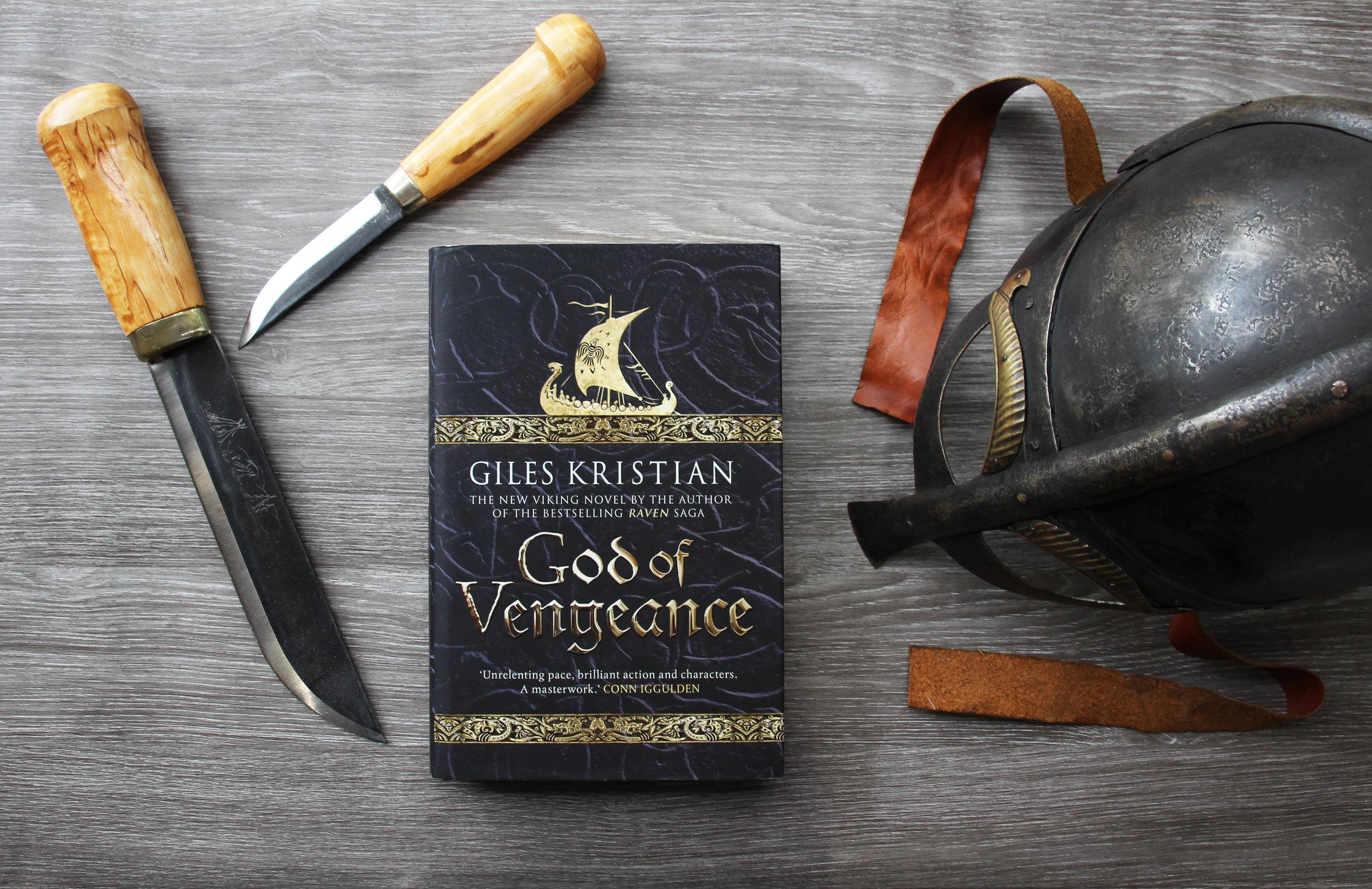God of Vengeance By historic novalist Giles Kristian